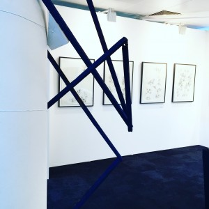Drawings and sculpture at the London Art Fair 2017